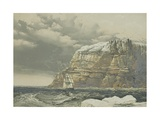 Bold Headland on Baring Island, 1854 Giclee Print by Samuel Gurney Cresswell