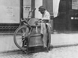 A London Knife Grinder, 1894 Photographic Print by Paul Martin