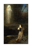 The Vision at the Martyr's Well Giclee Print by George Henry Boughton
