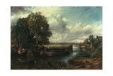 View of the Stour Near Dedham, 1822 Giclee Print by John Constable