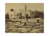 The Tomb of David, Mount Zion, 1850s Giclee Print by Mendel John Diness
