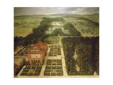 Casa De Campo, Madrid, 1634 Giclee Print by Felix Castello