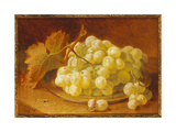 Grapes on a Silver Plate, 1893 Giclee Print by Eloise Harriet Stannard