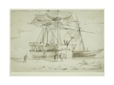 Pioneer and Resolute, C.1850-51 Giclee Print by William Henry Browne