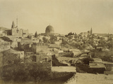 Photographic Views in the Holy Land: Jerusalem, 1855-57 Photographic Print by Mendel John Diness