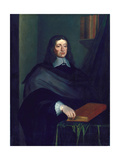 John Milton Giclee Print by William Faithorne