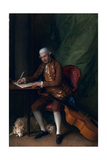Carl Friedrich Abel, C.1777 Giclee Print by Thomas Gainsborough