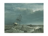 Hms Investigator in the Pack, October 8th, 1850, 1854 Giclee Print by Samuel Gurney Cresswell