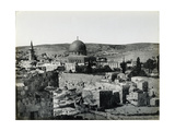 Panoramic View of the Temple Mount, 1858 Giclee Print by Mendel John Diness