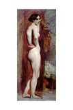 Female Nude from the Side, 1830 Giclee Print by William Etty