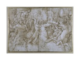Battle of the Sea-Gods Giclee Print by Andrea Mantegna