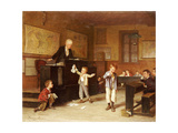 The School Room Giclee Print by Andre Henri Dargelas