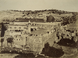 Photographic Views in the Holy Land: Al-Aqsa Mosque, 1855-57 Photographic Print by Mendel John Diness