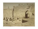 St. Stephen's Gate, 1856 Giclee Print by Mendel John Diness