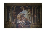 The West Wall of the Painted Hall, C.1707-27 Giclee Print by Sir James Thornhill