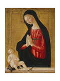 The Madonna Adoring the Child Giclee Print by Neroccio Di Landi