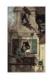 The Intercepted Love Letter, C.1855-60 Giclee Print by Carl Spitzweg
