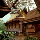 Thai Style House Photographic Print