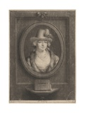 Mrs. Bates, 1793 Giclee Print by William Pether