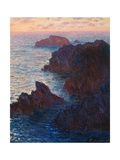 Rocks at Bell-Ile, Port-Domois, 1886 Giclee Print by Claude Monet
