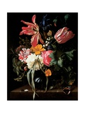 Still Life of Flowers, 1669 Giclee Print by Maria Van Oosterwyck
