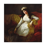 Portrait of Madame Favrega, 1798 Giclee Print by Baron Antoine Jean Gros