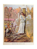Joan of Arc at the Stake Giclee Print by Frederic Lix