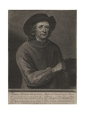 Thomas Britton, Engraved by John Simon (1675-1751), 1703 Giclee Print by John Wollaston