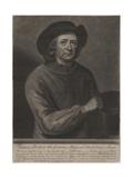 Thomas Britton, Engraved by John Simon (1675-1751), 1703 Giclee Print by John Wollaston