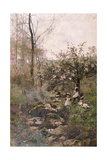 Spring Giclee Print by Hector Caffieri