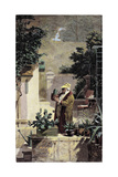 The Cactus Lover, before 1858 Giclee Print by Carl Spitzweg