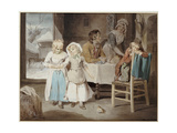The Pet Robin, 1794 Giclee Print by Francis Wheatley