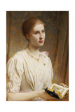 Portrait of Miss Helen Lindsay Giclee Print by Charles Edward Perugini