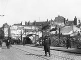 Ruins, Rue De Bethune, Lille, 1918 Photographic Print by Jacques Moreau