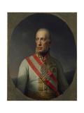 Franz I, Kaiser of Austria and Hungary, 1816 Giclee Print by Johann Baptist Edler von Lampi
