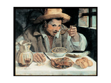 The Bean Eater, 1584 Giclee Print by Annibale Carracci