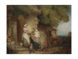 Rustic Benevolence, 1791 Giclee Print by Francis Wheatley