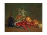 Plate of Crayfish Giclee Print by Giacomo Ceruti