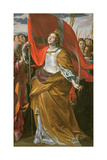 St. Ursula and the Virgins Giclee Print by Giovanni Lanfranco