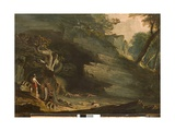 Cadmus and the Dragon, 1813 Giclee Print by John Martin