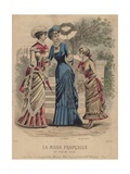 Illustration from 'French Fashion', 1883 Giclee Print by Paul Deferneville