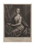 Mrs. Anastasia Robinson, Engraved by John Faber the Younger (C.1695-1756), 1727 Giclee Print by John Vanderbank