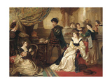 The Three Caskets, from the Merchant of Venice, Act III, Scene II Giclee Print by Robert Alexander Hillingford