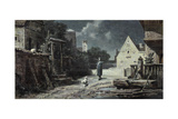 The Night Watchman Giclee Print by Carl Spitzweg