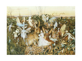 Fairy Twilight Giclee Print by John Anster Fitzgerald
