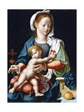 Madonna mit dem Kinde Giclée-Druck von Joos Van Cleve