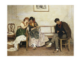 Proposal of Love, 1884 Giclee Print by Eugen Von Blaas