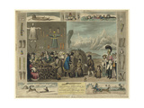 Laplanders, Reindeer Etc., as Exhibited at the Egyptian Hall, Piccadilly, 1822 Giclee Print by Isaac Cruikshank