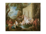 The Bathers Giclee Print by Jean-Baptiste Joseph Pater