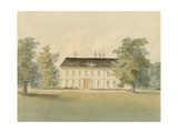 Parsonage of the Rev. Drummond, 1823 Giclee Print by John Hassell